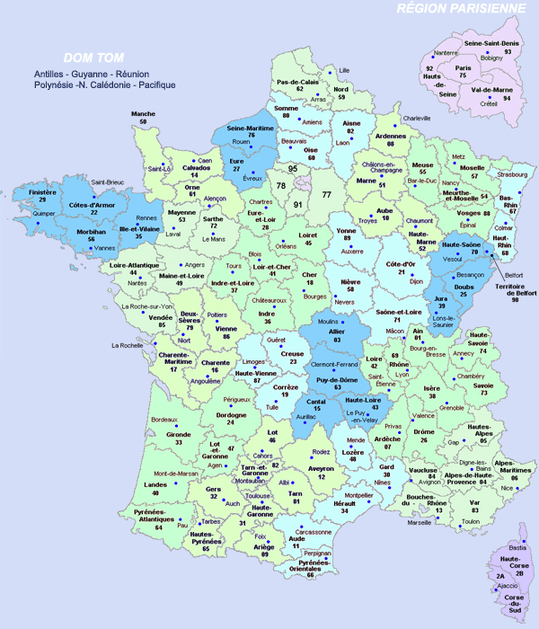carte-france-villes-touristiques